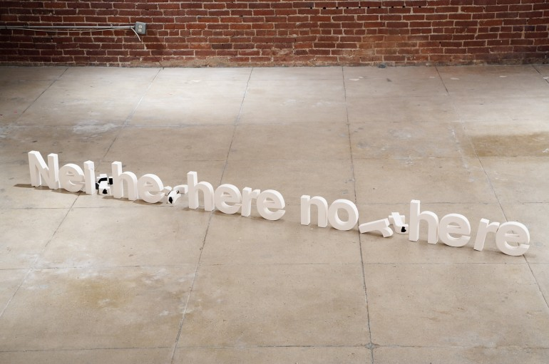 Neither here nor there by Thomas Müller