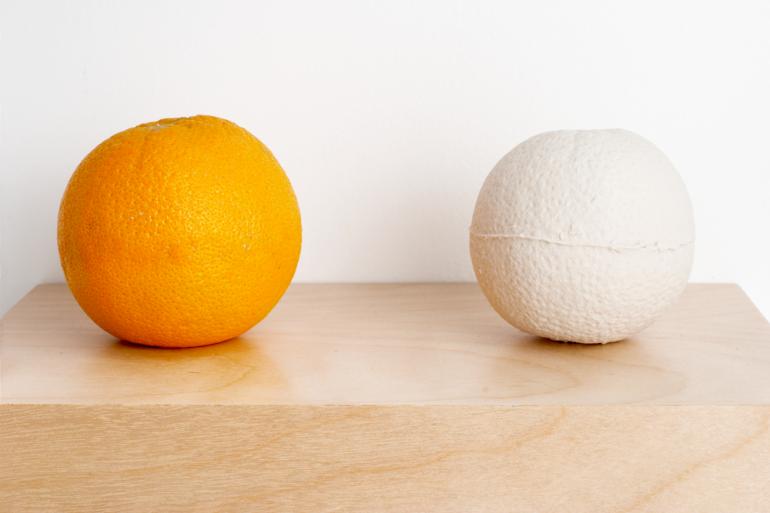 Orange (detail) by Thomas Müller